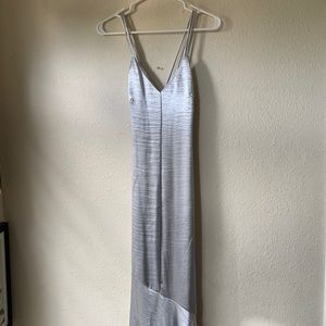H&M Silver Gown *Never Worn, Still With Tags*